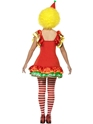 Adult Boo Boo the Clown Ladies Costume  - Side View - Thumbnail