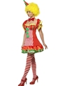 Adult Boo Boo the Clown Ladies Costume  - Back View - Thumbnail