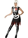 Adult Bright Bones Glow in the Dark Costume