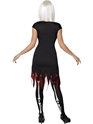 Adult Bright Bones Glow in the Dark Costume  - Side View - Thumbnail