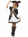 Adult Buccaneer Pirate Girl Costume  - Back View - Thumbnail