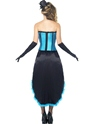 Adult Burlesque Dancer Costume  - Side View - Thumbnail