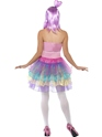 Adult Candy Queen Katy Costume  - Back View - Thumbnail