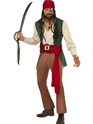 Adult Carribean Drunken Pirate Costume Thumbnail