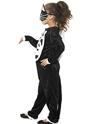 Child Cat Costume  - Side View - Thumbnail