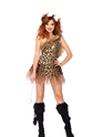 Adult Cave Girl Cutie Costume  - Back View - Thumbnail