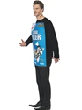 Adult Cereal Killer Costume  - Back View - Thumbnail