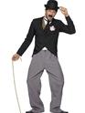Adult Charlie Chaplin 1920's Star Costume Thumbnail