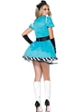 Adult Charming Alice Costume  - Back View - Thumbnail