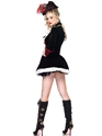 Adult Charming Pirate Captain Costume  - Back View - Thumbnail