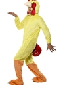 Adult Chicken Costume  - Back View - Thumbnail