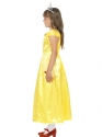 Child Belle Beauty Costume  - Back View - Thumbnail