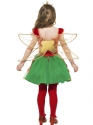 Child Girls Christmas Elf Fairy  - Side View - Thumbnail