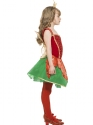 Child Girls Christmas Elf Fairy  - Back View - Thumbnail