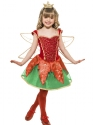 Child Girls Christmas Elf Fairy Thumbnail