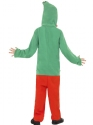 Child Elf Onesie Costume  - Side View - Thumbnail