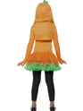 Child Pumpkin Tutu Costume  - Side View - Thumbnail