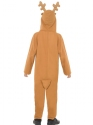 Child Reindeer Onesie Costume  - Side View - Thumbnail
