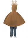 Child Reindeer Poncho  - Side View - Thumbnail