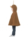 Child Reindeer Poncho  - Back View - Thumbnail