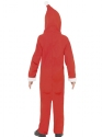 Child Santa Onesie Costume  - Side View - Thumbnail