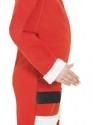 Child Santa Onesie Costume  - Back View - Thumbnail