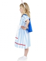 Child Vintage Nurse Costume  - Back View - Thumbnail