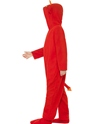 Child Devil Onesie Costume  - Back View - Thumbnail