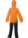 Child Pumpkin Monster Instant Kit  - Back View - Thumbnail