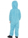 Child Sesame Street Cookie Monster Costume  - Side View - Thumbnail
