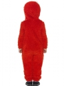 Child Sesame Street Elmo Costume  - Side View - Thumbnail
