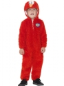 Child Sesame Street Elmo Costume Thumbnail