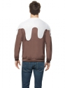 Adult Christmas Pudding Jumper  - Side View - Thumbnail
