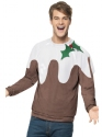 Adult Christmas Pudding Jumper Thumbnail