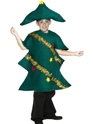 Child Christmas Tree Childrens Costume  - Back View - Thumbnail
