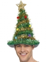 Christmas Tree Hat  - Back View - Thumbnail