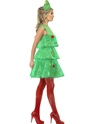 Adult Tutu Christmas Tree Costume  - Back View - Thumbnail