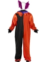 Adult Cirque Sinister Bo Bo the Clown Costume  - Back View - Thumbnail