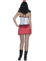 Adult Knife Throwers Assistant Costume  - Side View - Thumbnail