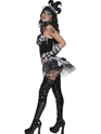 Adult Cirque Sinister Tainted Harlequin Costume  - Side View - Thumbnail