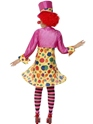 Adult Clown Lady Costume  - Side View - Thumbnail