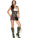 Adult Combat Cutie Army Costume Thumbnail