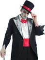Adult Corpse Groom Costume  - Back View - Thumbnail