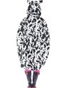 Cow Party Poncho Festival Costume  - Side View - Thumbnail