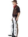 Adult Cowboy Costume  - Back View - Thumbnail