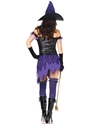 Adult Crafty Cutie Witch Costume  - Back View - Thumbnail