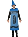 Crayola Crayons Adult Blue Costume