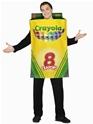 Adult Crayola Crayons Box of 8 Costume Thumbnail