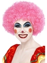 Crazy Clown Pink Wig Thumbnail