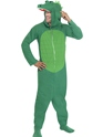 Adult Crocodile Onesie Costume Thumbnail